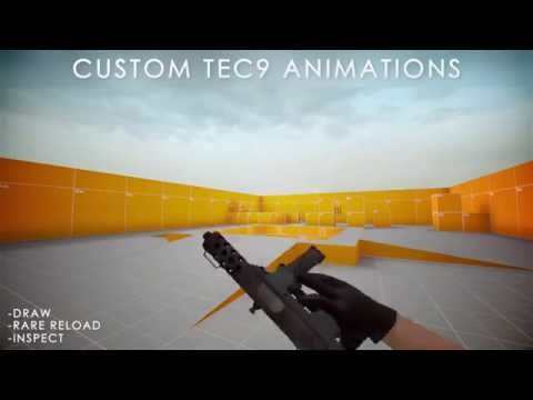 I messed around with some new custom animations for the tec9. What do you guys think?