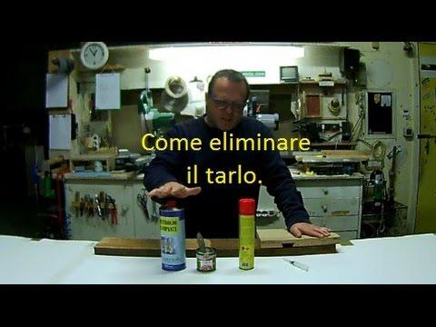 Come eliminare il #tarlo ( guarda lultimo video ) più semplice.