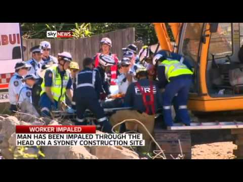 Teenager's head impaled at NSW worksite - Today's News