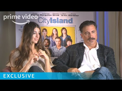 FatherDaughter Duo Andy Garcia & Dominik GarciaLorido on Making City Island  Prime Video