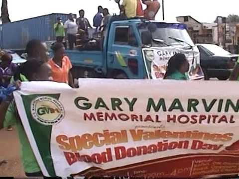 Gary Marvin Memorial Hospital - Blood donation day