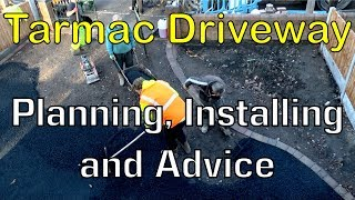 Gambar cover Laying of a new Tarmac Driveway Time-lapse - My Experience Shared