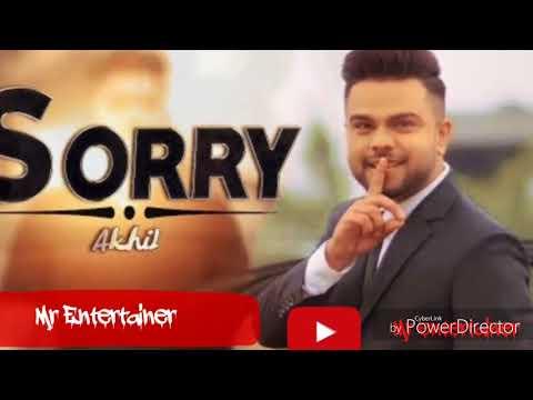 Sorry (Full Video) - Akhil | Parmish Verma | New Punjabi Songs 2018