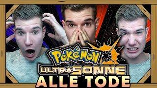 POKÉMON UltraSonne: Alle Tode aus der Nuzlocke!