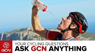 How Should I Fuel My Ride?   Ask GCN Anything About Cycling