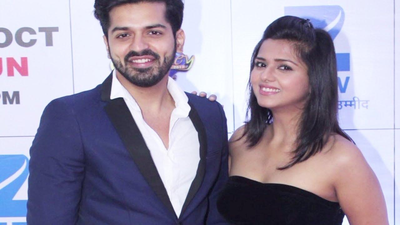 Gaurav Khanna Wife Daljeet Kaur At Zee Ri...