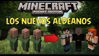 Los nuevos aldeanos de minecraft