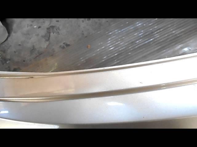 как снять на хюндай солярис задний бампер,ремонт бампера