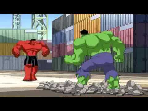 os vingadores hulk verde vs hulk vermelho youtube