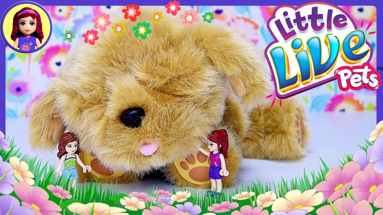 Snuggles My Dream Puppy Little Live Pets Review Silly Play Lego