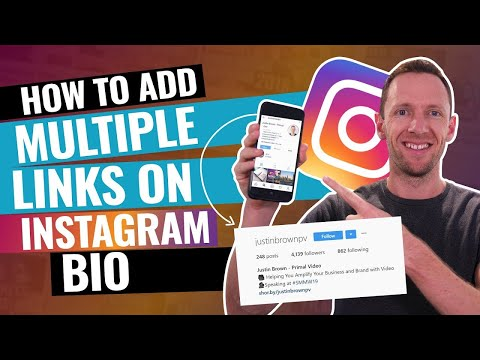 How to post a link on your instagram bio