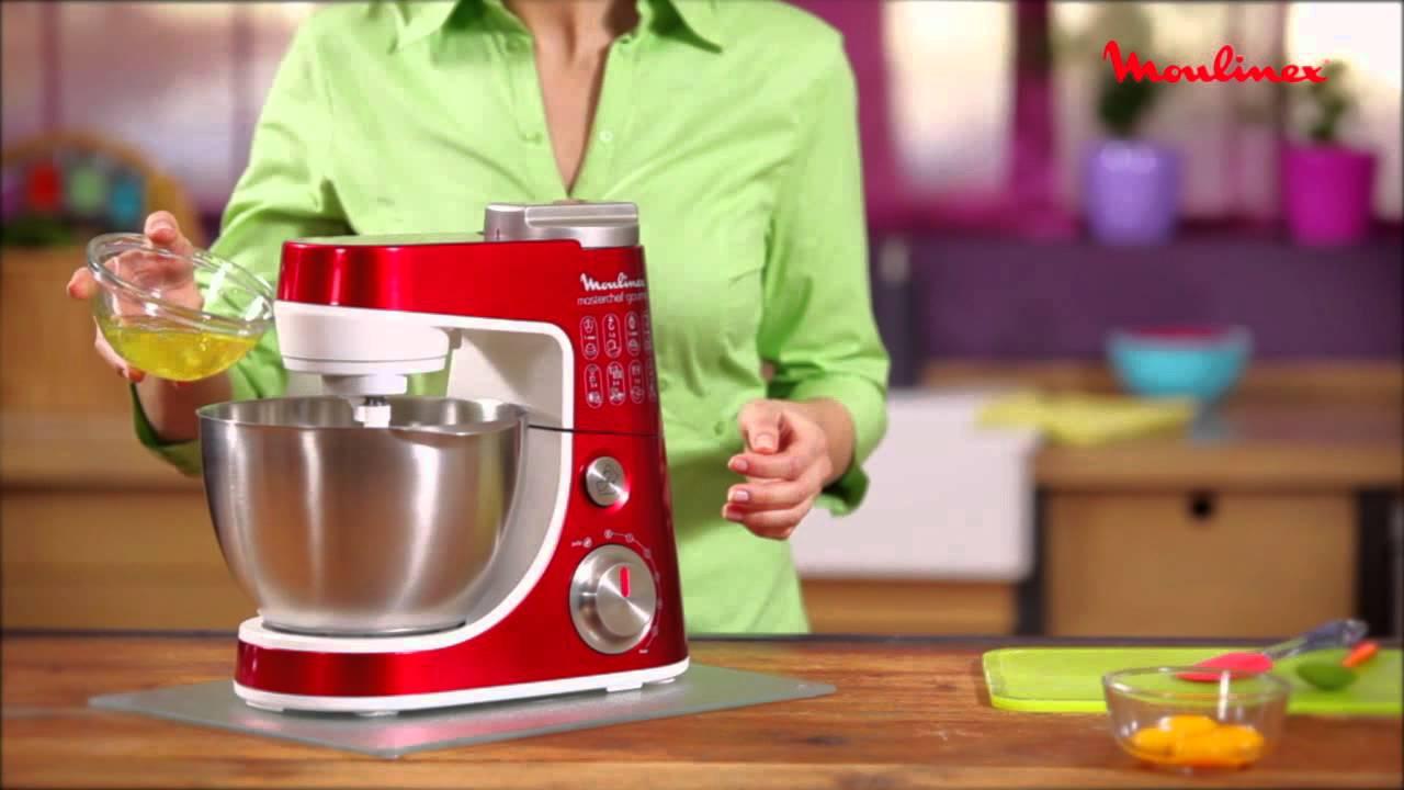 Masterchef Gourmet 3 Cones Moulinex Robot Patissier Youtube
