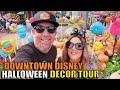 Downtown Disney Halloween Decorations Tour! Stores, Merchandise, Treats, & Pumpkins Everywhere!