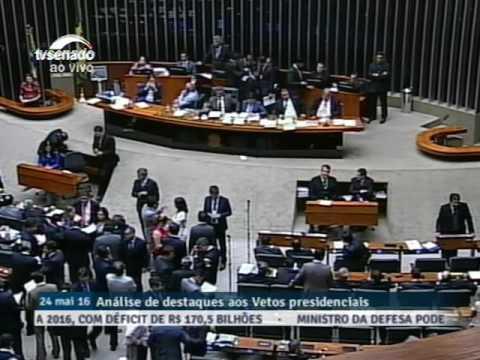 Congresso Nacional - Sessão Conjunta - 25/05/2016