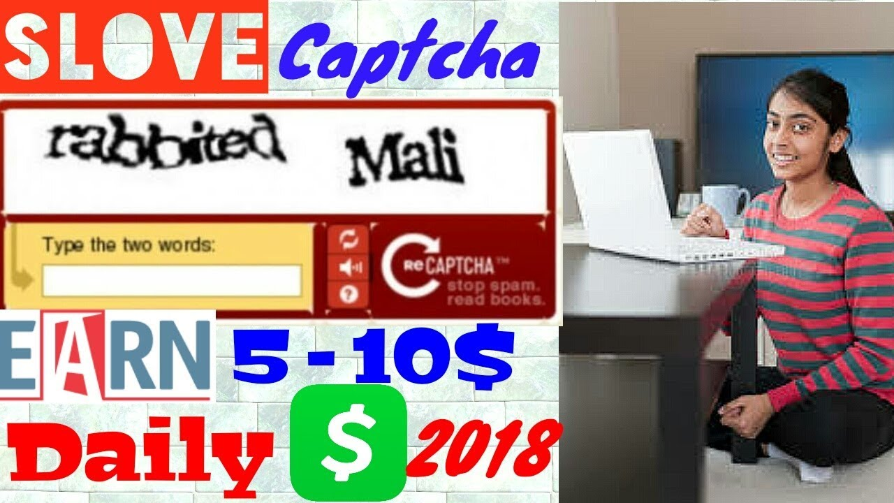 Captcha typing job – Captcha work without investment & daily