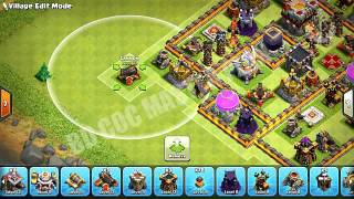 Clash Of Clans  BEST TH11 HYBRID BASE NEW UPDATE BOMB TOWER 300 WALLSTown Hall 11 FarmingTrophy