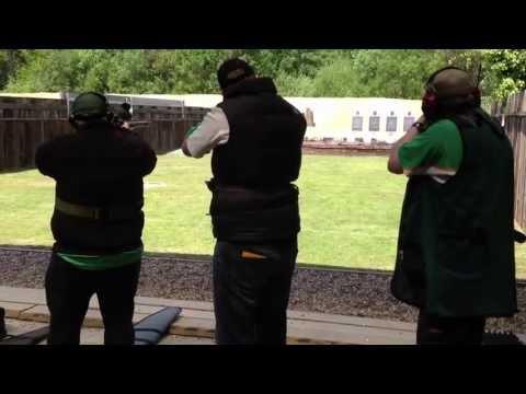 Gallery rifle CF 1500  Intl Match 5 Stage 2 @ Bisley 2013 Irish team