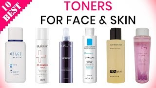 10 Best Face Toners 2019 | For Clean Younger Skin