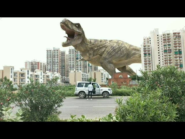 Jurrasic World 2 in Real Life Fan Film | Edit with Mobile HD