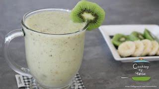 키위 바나나 스무디 만들기, 초간단 스무디 레시피 : How to Make Kiwi Banana Smoothie, smoothies recipe -Cooking tree 쿠킹트리