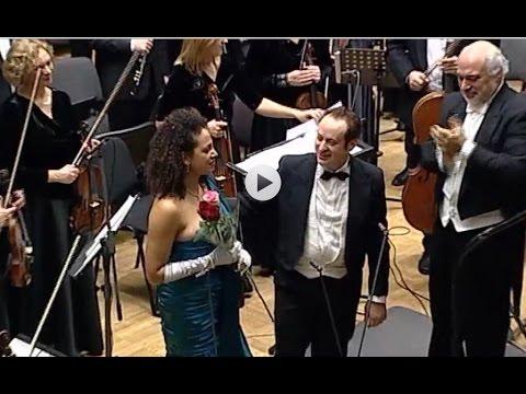 Stefano Secco recital in Kaunas special guest Sarah M.Punga Dir C.Orbelian Dec 2014