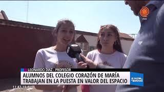 Intervención en el colegio Corazón de María
