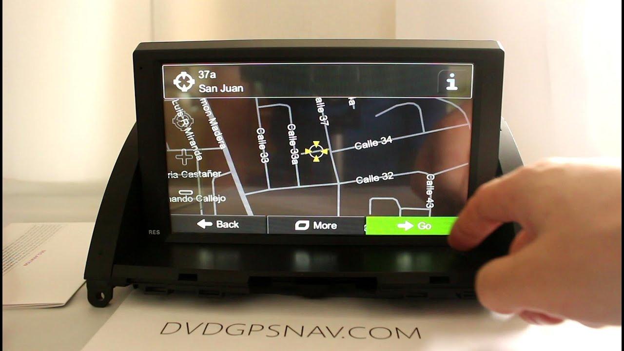 Mercedes Benz W204 GPS Navigation DVD 8 Touch Screen Benz