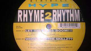 Rhyme 2 Rhythm - Let The Bass Boom (1993) (The Skeeters Payback Mix)