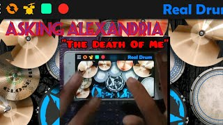 Asking Alexandria The Death Of Me   Real Drum Cover