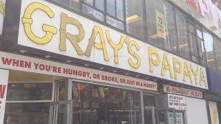 Gray's Papaya - Classic New York City Hot Dog Joints