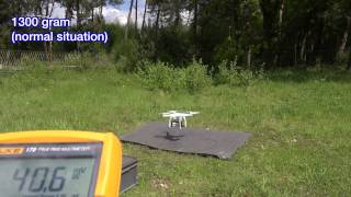 DJI Phantom 3 payload test part2