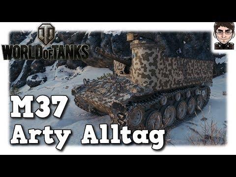 World of Tanks - M37, Arty Alltag auf Tier 4 [deutsch | gameplay] thumbnail