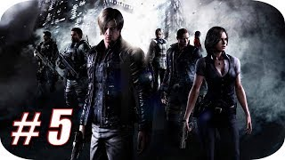 Resident Evil 6 HD [Campaña Leon] Gameplay Español - Capitulo 5 - En Busca de Deborah