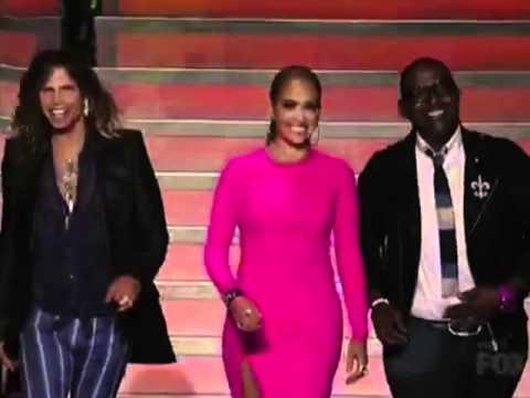 Jennifer Lopez's Outfits On 'American Idol' 2012
