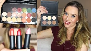 Rewiew & Swatches| Anastasia Beverly Hills, Make up Geek, BH Cosmetics!