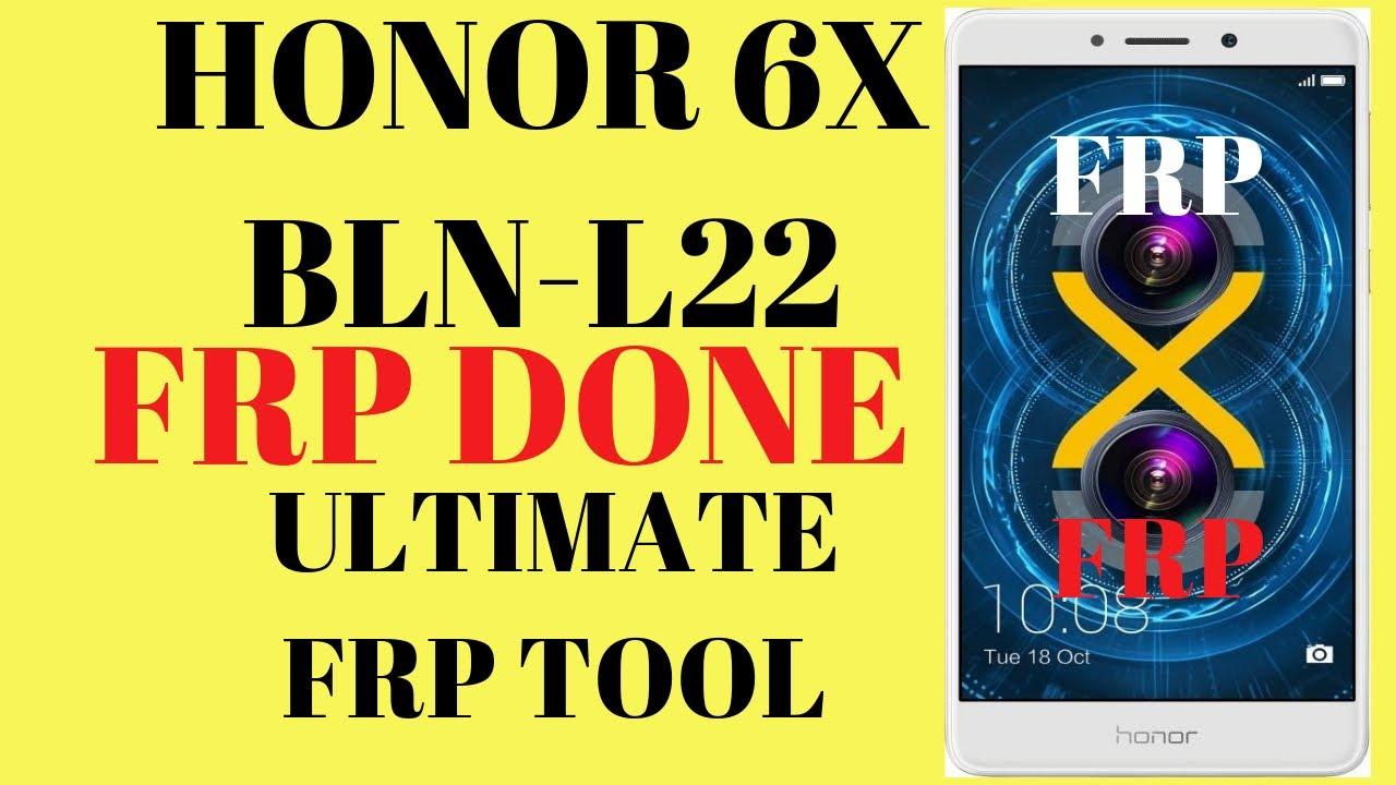 honor 6x frp l-22 umt - hmong video