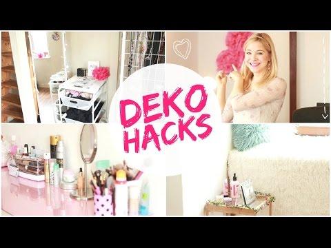DEKO HACKS Für Dein Zimmer-GÜNSTIG + EINFACH I ROOMTOUR
