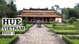 HUE / Imperial Tombs / Abandoned Water-park // Vietnam Week 3