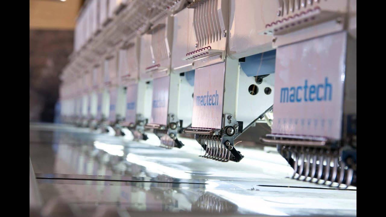 mactech - Soluções em Bordados e Corte a Laser - YouTube 402c21a05df