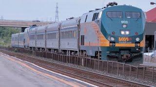 VIA's J Trains In The Kingston Area In June 2015