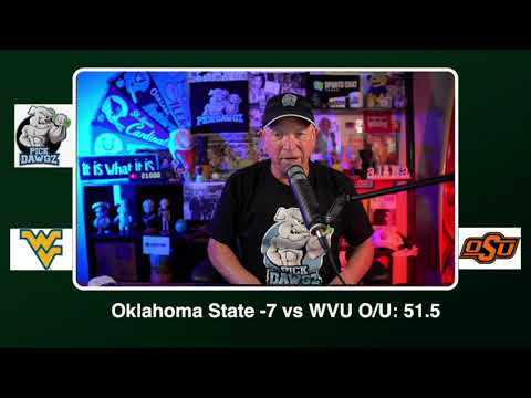 Oklahoma State vs West Virginia Free College Football Picks and Prediction CFB Tips Saturday 9/26/20