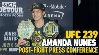 UFC 239 Post-Fight Press Conference: Amanda Nunes – MMA Fighting