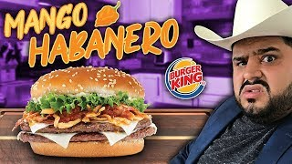 BURGER KING vs HOME-MADE (Mango Habanero Burger) | EL GUZII
