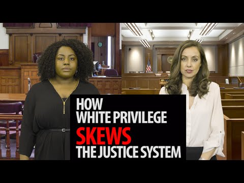 How White Privilege Skews The US Criminal Justice System