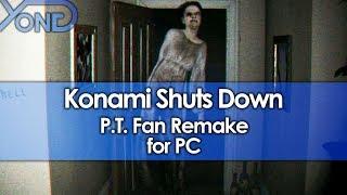 Konami Shuts Down P.T. Fan Remake for PC