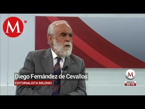 """Gobierno toma el """"toro por los cuernos"""" sobre huachicoleros: Diego Fernández de Cevallos"""