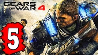 Gears of WAR 4: Gameplay Walkthrough Part 5 ACT 2 CHAPTER: THE GREAT ESCAPE / ACT 3 ALMOST MIDNIGHT