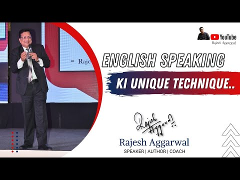 How To Speak English Without Fear (Hindi) By Rajesh Aggarwal | Motivational Speaker & Life Coach