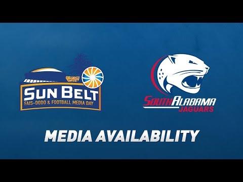 2019 Sun Belt Football Media Day: Steve Campbell, South Alabama