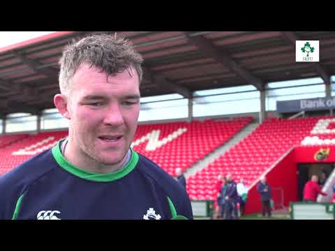 Peter O'Mahony in Irish Independent Park